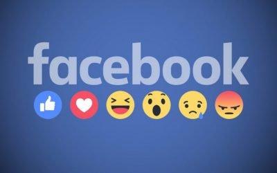 Reactions και στα σχόλια των posts στο Facebook