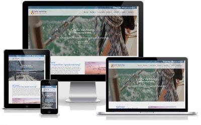 Νέο web site για: CorfuYachting.com