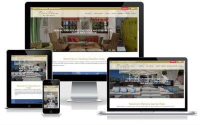 Νέο web site για: Marilena Seaview Hotel