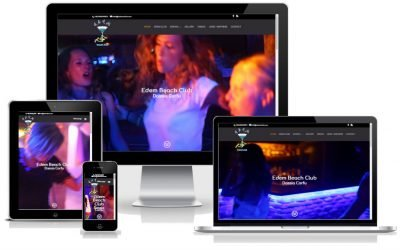 To KERKYRA.net υλοποίησε την κατασκευή web site για το EDEM Beach Club στη Δασσιά