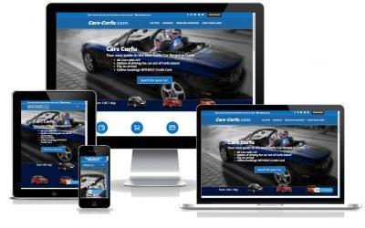 Το KERKYRA.net υλοποίησε την κατασκευή web site για το Cars-Corfu.com
