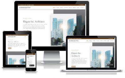 """Νέο Layout Pack """"Architecture Firm"""" για αρχιτέκτονες, μηχανικούς, εργολάβους"""