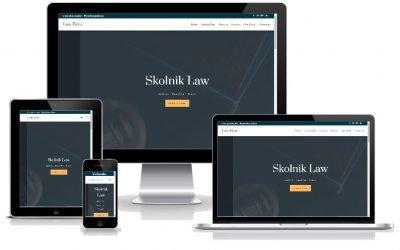 """Νέο Layout Pack """"Law Firm"""" για δικηγορικά ή συμβ/φικά γραφεία"""