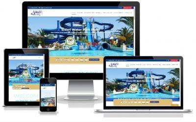 Νέο web site για το Sidari WaterPark Hotel από την SMARTERweb