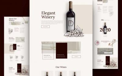 """Νέο Layout pack """"Winery Club"""" για οινοποιείες / κάβες"""