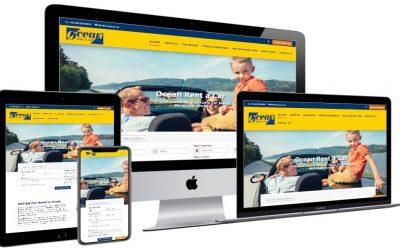 Νέο website για το OCEAN Car Rental